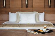 Master bedroom at Lime Villa 4, a luxury private, ocean view villa, Koh Samui, Surat Thani, Thailand