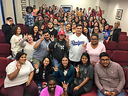 Teach Forward Houston students in Cohort 1 (Class of 2021) and Cohort 2 (Class 2022)