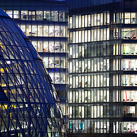 Nov/Dec 2011 - Stock photo shoot Transport, Travel - More London is a new development on the south bank of the River Thames, immediately south-west of Tower Bridge in London. The southern exit is on Tooley Street. - City of London - Most of an office building's energy consumption over its lifetime is in lighting,.lifts, heating, cooling and computer usage. Buildings in the City can be made.more sustainable by architecture that responds to the conditions of a site with.integrated structure and building services. Effective use of passive solar heat.and the thermal mass of the building, high insulation levels, natural daylighting.and wind power can all help to minimise fossil energy use
