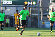 Forest Green Rovers Reuben Reid(26) runs forward during the Pre-Season Friendly match between Torquay United and Forest Green Rovers at Plainmoor, Torquay, England on 10 July 2018. Picture by Shane Healey.