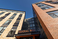 Architectural Image  of Bainbridge Federal Hill Apartments in Baltimore by Jefrey Sauers of CPI Productions