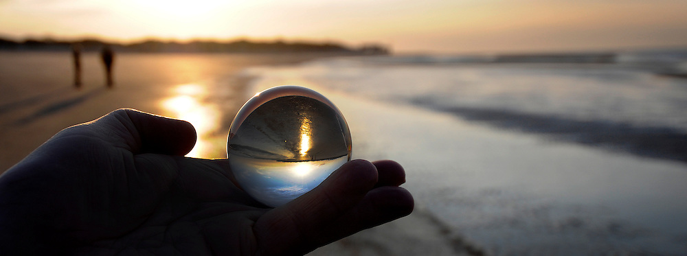 Glazen bol fotografie - Photography through a Glass Ball