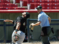 Plate Umpire Vondrak,Clint 2014 California League High Desert Victorville California MiLB