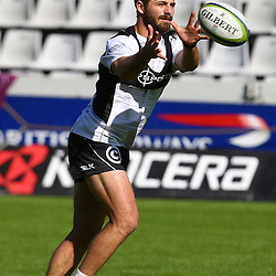 DURBAN, SOUTH AFRICA - MAY 06: Willie le Roux during the Cell C Sharks Captains run at Growthpoint Kings Park on May 06, 2016 in Durban, South Africa. (Photo by Steve Haag/Gallo Images)
