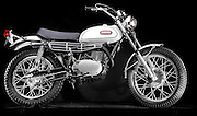 1968 Yamaha DT1 motorcycle. This bike revolutionized off-road motorcycles.  It was the first affordable, light weight and reasonably powerful bike that was street legal.