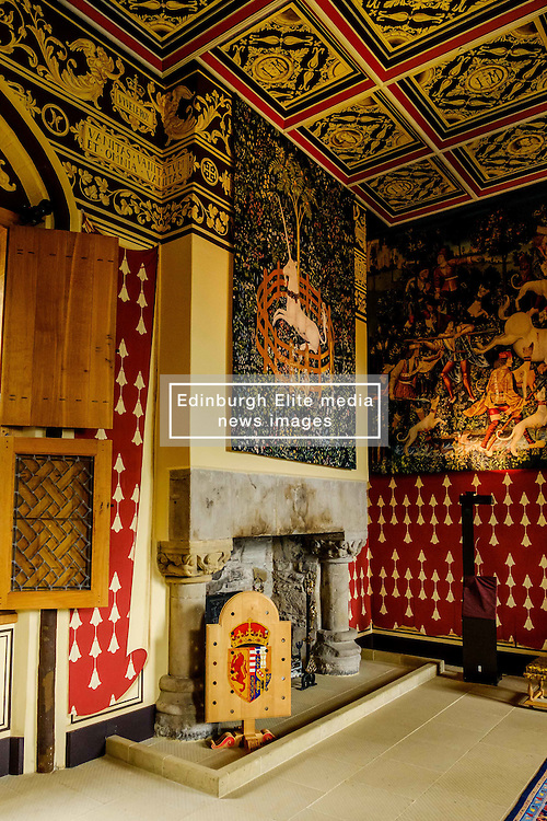 The Queen's Inner Hall, Stirling Castle, Scotland<br /> <br /> (c) Andrew Wilson | Edinburgh Elite media