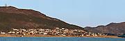 Stiched high resolution panorama of Kvalsund, Norway. This picture is suited for large prints.   Sammensatt høyoppløslig panorama av Kvalsund, Norge. Dette bildet er godt egna for svært store utskrifter/bilder.