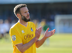 Bristol Rovers' Andy Monkhouse - Photo mandatory by-line: Neil Brookman/JMP - Mobile: 07966 386802 - 18/04/2015 - SPORT - Football - Dover - Crabble Athletic Ground - Dover Athletic v Bristol Rovers - Vanarama Football Conference