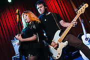 On October 3rd, 2014 garage rock hunnies Bruiser Queen released their new album &quot;Sweet Static&quot; at Off Broadway in St. Louis, Missouri. Balloons were everywhere.<br />