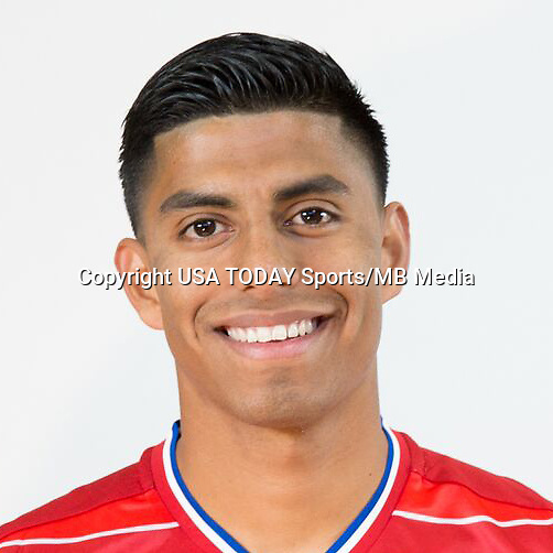 Feb 25, 2016; USA; FC Dallas player Moises Hernandez poses for a photo. Mandatory Credit: USA TODAY Sports