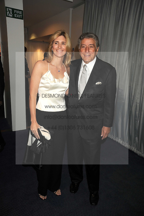 TONY BENNETT and SUSAN CROW at the GQ Men of the Year Awards held at the Royal Opera House, London on 2nd September 2008.<br /> <br /> NON EXCLUSIVE - WORLD RIGHTS