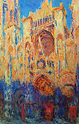 Claude Monet 'Rouen Cathedral, Sunset'