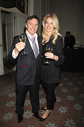 RAYMOND BLANC and NATALIA TRAXEL at a dinner to celebrate the launch of the Dom Ruinart 1998 vinatage champage at Claridge's, Brook Street, London W1 on 23rd April 2008.<br />