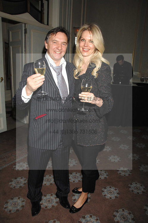 RAYMOND BLANC and NATALIA TRAXEL at a dinner to celebrate the launch of the Dom Ruinart 1998 vinatage champage at Claridge's, Brook Street, London W1 on 23rd April 2008.<br /><br />NON EXCLUSIVE - WORLD RIGHTS