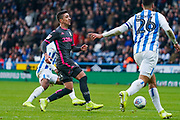 Leeds United midfielder Pablo Hernandez (19) reacts during the EFL Sky Bet Championship match between Huddersfield Town and Leeds United at the John Smiths Stadium, Huddersfield, England on 7 December 2019.