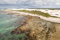 Historical fish Traps on the coastline in the De Hoop Marine Protected Area