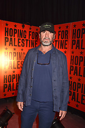 """Eric Cantona at """"Hoping For Palestine"""" Benefit Concert For Palestinian Refugee Children held at The Roundhouse, Chalk Farm Road, England. 04 June 2018."""