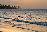 Sunset at beach