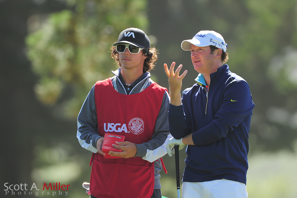 Brian Rowell during the second round of the 112th U.S. Open at The Olympic Club on June 15, 2012 in San Fransisco. ..©2012 Scott A. Miller