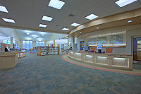 Architectural  Photographer of Maryland Jeffrey Sauers of Commercial Photographics  Image of Harford County Public Library Whitford Branch interior for Mullan Contracting Company and Lawrence Howard and Associates
