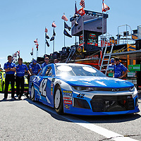The Monster Energy NASCAR Cup Series teams take to the track for the Foxwoods Resort Casino 301 at New Hampshire Motor Speedway in Loudon, New Hampshire.