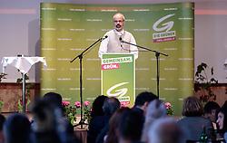 10.06.2017, Johann Stüdl Saal, Kals am Grossglockner, AUT, 46. Landesversammlung der Tiroler Grünen, mit Wahl der Landesliste zur Nationalratswahl, im Bild Thomas Haidenberger (Lienz) // during convention of the austrian the greens party Tyrol with the preparation of the lists for the state elections and the national elections at the Johann Stüdl Saal in Kals am Grossglockner, Austria on 2017/06/10. EXPA Pictures © 2017, PhotoCredit: EXPA/ Johann Groder