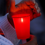 AIDS Candlelight Vigil, rememberance of love ones who died of AIDS