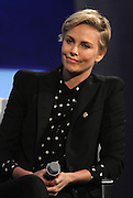 Sept. 27, 2015 - New York, NY, United States - <br /> <br /> Charlize Theron speaks at the 'CGI 2015 Annual Meeting' on September 27 2015 in New York City<br /> ©Exclusivepix Media
