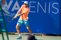 Michal Konecny (CZE) play against Ljubomir Celebic (MNE) at ATP Challenger Zavarovalnica Sava Slovenia Open 2017, on August 7, 2017 in Sports centre, Portoroz/Portorose, Slovenia. Photo by Urban Urbanc / Sportida