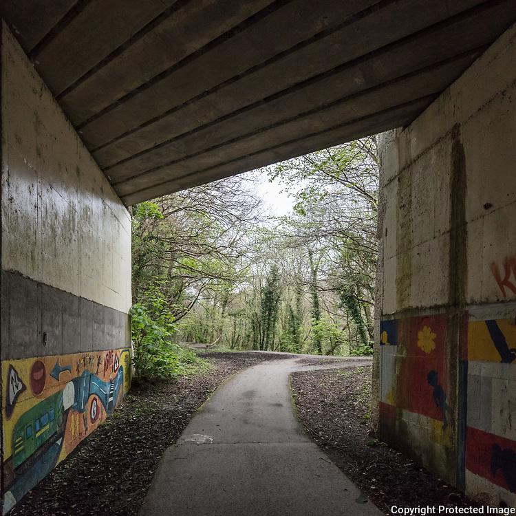 Underpass, Bangor, Gwynedd.
