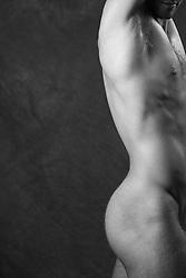 detail of a man's torso