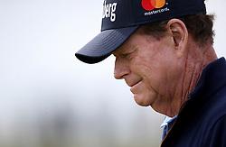 USA's Tom Watson during day three of the Senior Open at Royal Porthcawl Golf Club, Porthcawl.