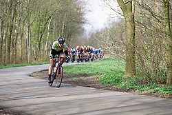 Natalie van Gogh attacks - Energiewacht Tour 2016 - Stage 3. A 131 km road race finishing in Stadskanaal, Netherlands on April 8th 2016.