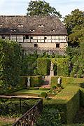 Garten , Dornburger Schlösser, Dornburg, Thüringen, Deutschland   gardens, Dornburg castles, Dornburg, Thuringia, Germany