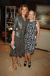 Left to right, ARABELLA MACMILLAN and MARIELLA FROSTRUP at a party to celebrate the 180th Anniversary of The Spectator magazine, held at the Hyatt Regency London - The Churchill, 30 Portman Square, London on 7th May 2008.<br />