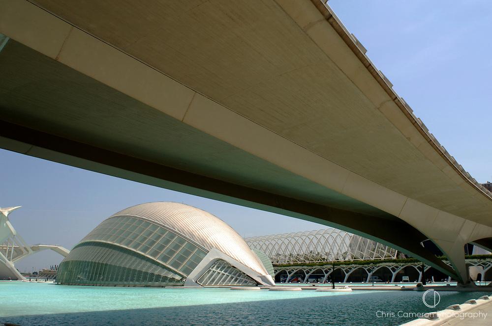 L'Hemisferic, Ciudad de las Artes Y las Ciencias (City of the arts and Sciences), Valencia, Spain. 22/6/2005