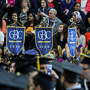 Goldey-Beacom College processional begins during the start of Goldey-Beacom commencement exercise Friday, May 1, 2015, at Joseph West Jones College Center on the campus of Goldey-Beacom College in Wilmington Delaware.
