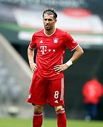 Javier Martinez #8 von FC Bayern Muenchen During the Bayern Munich vs SC Freiburg Bundesliga match  at Allianz Arena, Munich, Germany on 20 June 2020.