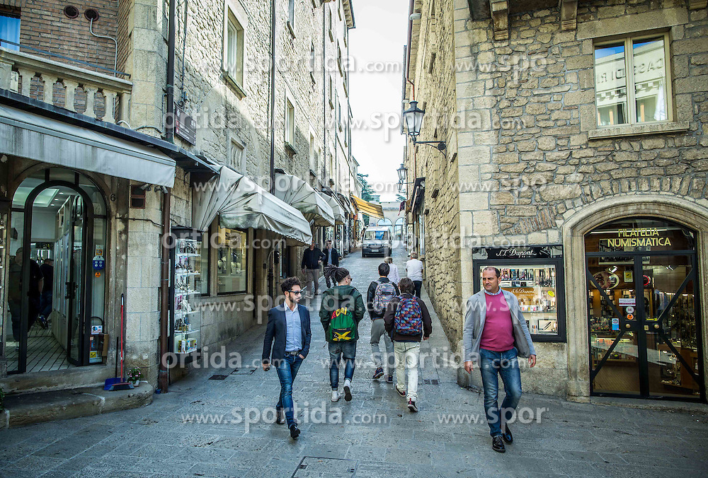 City of San Marino, on October 12, 2015 in Republic of San Marino. Photo by Vid Ponikvar / Sportida