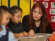 Pre-K class at JP Henderson Elementary School, February 21, 2015.
