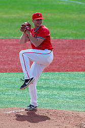 NORMAL, IL - April 08: Jeff Lindgren during a college baseball game between the ISU Redbirds  and the Missouri State Bears on April 08 2019 at Duffy Bass Field in Normal, IL. (Photo by Alan Look)