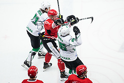 GORSE Enes during Alps League Ice Hockey match between HDD SIJ Jesenice and HK SZ Olimpija on March 2, 2020 in Ice Arena Podmezakla, Jesenice, Slovenia. Photo by Peter Podobnik / Sportida