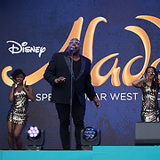 Disney's Aladdin on stage at West End Live on June 16 2018  in Trafalgar Square, London.