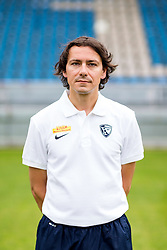07.07.2015, Rewirpower Stadion, Bochum, GER, 2. FBL, VfL Bochum, Fototermin, im Bild Physiotherapeut Sascha Zivanovic (Bochum) // during the official Team and Portrait Photoshoot of German 2nd Bundesliga Club VfL Bochum at the Rewirpower Stadion in Bochum, Germany on 2015/07/07. EXPA Pictures &copy; 2015, PhotoCredit: EXPA/ Eibner-Pressefoto/ Hommes<br /> <br /> *****ATTENTION - OUT of GER*****