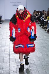 © Licensed to London News Pictures. 28/05/2013. London, England. Collection by Charles Jeffrey. Central St Martins BA Fashion show with collections by graduate fashion students. Photo credit: Bettina Strenske/LNP
