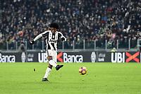 Gol Juan Cuadrado Juventus goal celebration <br /> Torino 05-02-2017, Juventus Stadium, Football Calcio 2016/2017 Serie A, Juventus - Inter, Foto Image Sport/Insidefoto