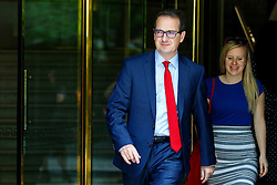 © Licensed to London News Pictures. 28/07/2016. London, UK.  Labour leadership candidate OWEN SMITH leaves Millbank Studios in Westminster, London on Thursday, 28 July 2016. Photo credit: Tolga Akmen/LNP