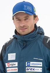 Matej Oblak of Slovenian Men Biathlon Team at Dachstein glacier before new season 2008/2009, Austria, on October 30, 2008.  (Photo by Vid Ponikvar / Sportida)