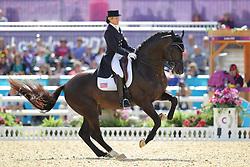 Konyot, Tina, Calecto V<br /> London - Olympische Spiele 2012<br /> <br /> Dressur Grand Prix de Dressage<br /> © www.sportfotos-lafrentz.de/Stefan Lafrentz