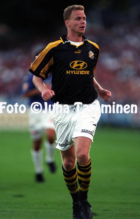 01.09.1997.P?r Millqvist - AIK.©JUHA TAMMINEN